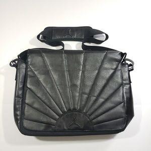 Jordan retro 12 RARE laptop messenger bag black
